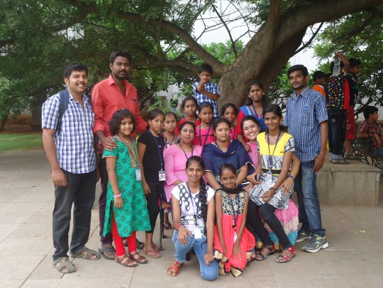 Outreach - Hyderaba ramoji film city