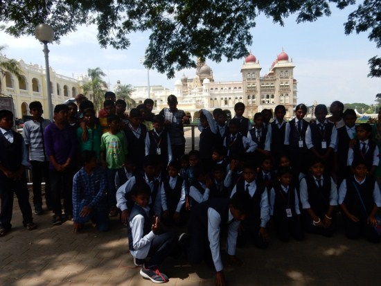 Outreach - Mysore tour