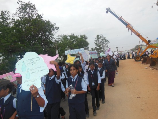 Rain Water Harvesting Rally